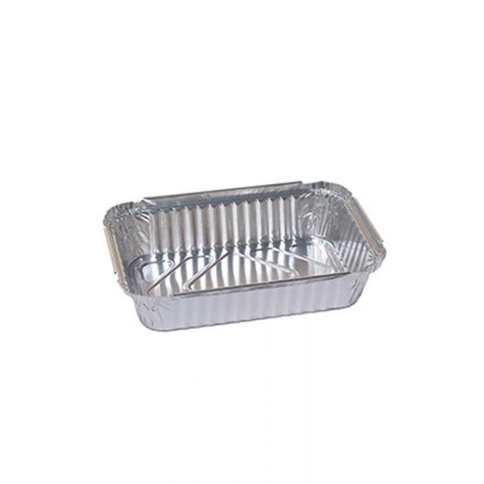 contenitori in alluminio con coperchio